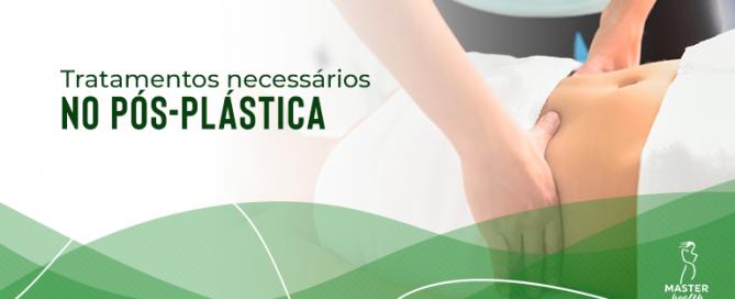 tratamentos necessários no pós-plástica