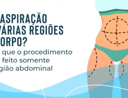 Lipoaspiração em várias regiões do corpo