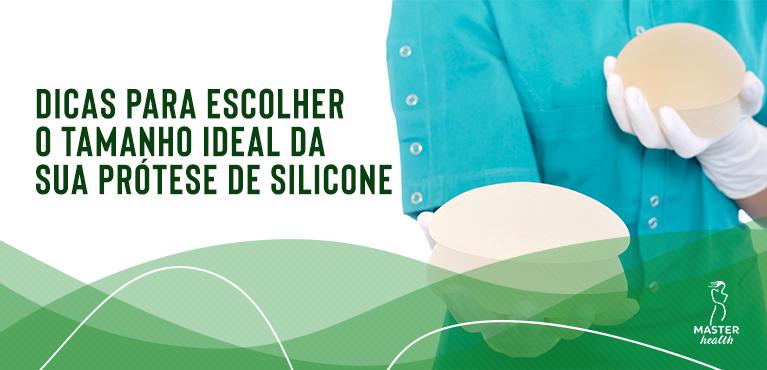 como escolher o tamanho da prótese de silicone