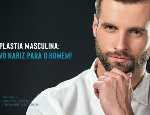 Rinoplastia Masculina: o novo nariz para o homem!