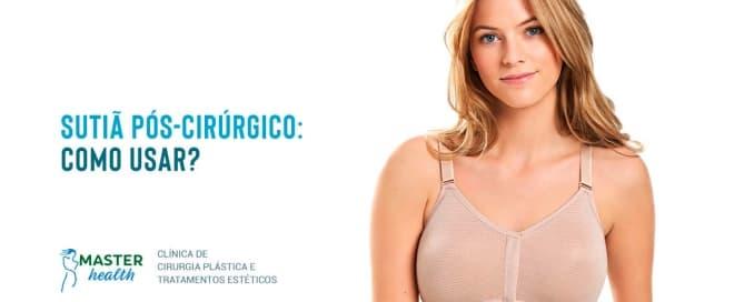 sutiã pós-cirúrgico mamoplastia redutora