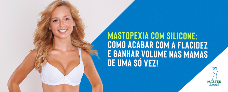 Mastopexia com silicone