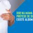 Dor na mama com prótese de silicone