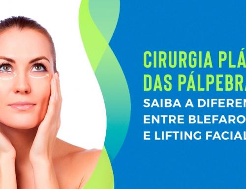 Cirurgia plástica das pálpebras: saiba a diferença entre blefaroplastia e lifting facial